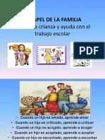 ESCUELA DE PADRES PIE. 24.03.2014
