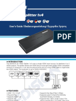 4K_HDMI_Splitter_1x4_MANUAL_EN_DE_GR