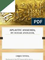 aplastic anamia.pptx