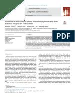 Estimation of strut forces for braced excavation in granular soils from