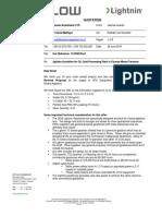 19-3995 Rev2 SPX - Mixer Quotation for Ramani Investment LTD Tanzania