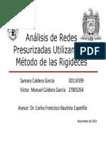 Análisis de Redes Presurizadas Utilizando el Método de