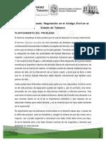 PROTOCOLO DE INVESTIGACIÓN - Divorcio Incausado