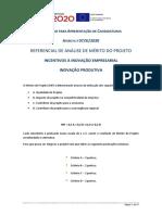 20200204_Referencial MP_ Aviso 07_SI_2020 Inovação Produtiva