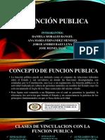La función publica
