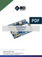 GUÍA RÁPIDA M2M 3G Shield MCI02870 REV. 1.0