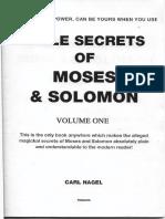 Bible Secrets of Moses and Solomon Vol1.pdf