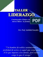 Presentación Taller Liderazgo