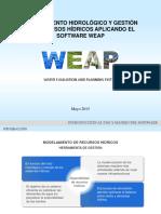 Conceptos básicos en un modelo hidrológico en WEAP