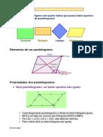 Paralelogramos (Propriedades)
