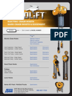 ACCOLIFT_ELECTRIC CHAIN HOIST_Catalog