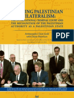 Averting Palestinian Unilateralism