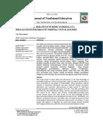 Kearifan Lokal Kerajinan Bordir Tasikmalaya Sebagai Ekonomi Kreatif Terbuka Untuk Modern (Studi di Kota Tasikmalaya Jawa Barat).docx