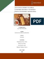 trabajo de normas técnicas nacionales e internacionales de la La industria de productos farináceos.