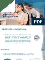 Capacitación- Prevención de hostigamiento sexual ppt