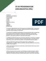 Angelica Gallegos - Bases del P. N. L.