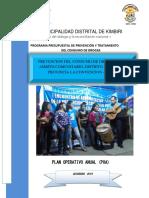 CONSUMO DE DROGAS EN AMBITO COMUNITARIO KIMBIRI CUSCO.