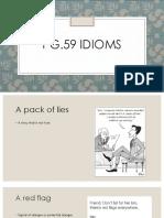 Idioms Reach Up 1Bachillerato Unit 5 p. 59