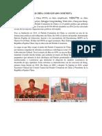 REPUBLICA POPULAR CHINA COMO ESTADO COMUNISTA
