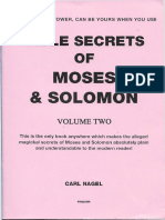 Bible Secrets of Moses and Solomon Vol2