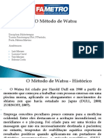 METODO DE WATSU
