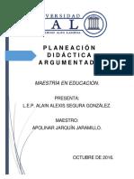 PLANEACION ARGUMENTADA