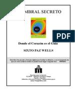 Paz Wells, Sixto - El umbral secreto .doc