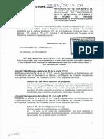 PROYECTO DE LEY 2559-2017