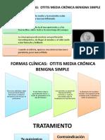 OTITIS MEDIA PRESENTACIÓN