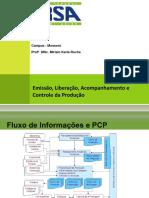 Estoques - Emissão, Liberação, Acompanhamento e Controle da Produção (11-12)