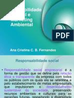 Responsabilidade social empresarial e Marketing Verde