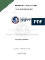 RECUPERACIÓN DE BISFENOL-A A PARTIR DE POLICARBONATO