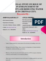 A SOCIOLOGICAL STUDY ON ROLE OF YOUTH IN ENHANCEMENT OF BIODIVERSITY AND REDUCING WATER CRISIS IN CHENNAI CITY