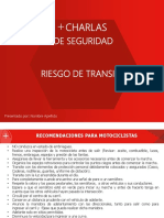 Charlas de seguridad Riesgo de transito.pdf