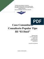 CASO COMUNITARIO  CPT III EL DATIL