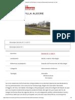 Estación de Villa Alegre _ Consejo de Monumentos Nacionales de Chile