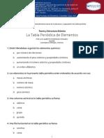 La Tabla Periódica de Elementos-Chemistry-Quiz-Visionlearning