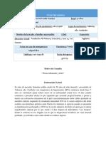 CASO CLINICO VI con los paraclinicos