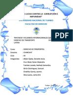 TRATADOS Y ACUERDOS QUE REGUNLAN EL DERECHO DE TRANSPORTE (1)