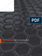 Supplier Principles - Guidance for Responsible Business - LA Spanish