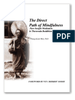 The Direct Path of Mindfulness