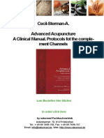 Cecile Sterman Advanced Acupuncture