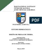 ESTUDIO HIDROLOGICO DISEÑO DE PRESAS.docx