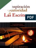 La Inspiración y Autoridad de Las Escrituras – Virgilio Zaballos