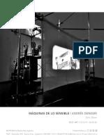 Rolf Art _ Exhibitions _ Máquinas de lo sensible _ Andres Denegri _ Catalogo digital