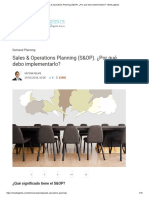 1_Sales & Operations Planning (S&OP)