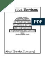 new carrier & shipper logistics plan