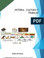 HISTORIA , CULTURA Y TRABAJO
