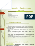 Modelos de Consistencia de Memoria
