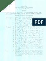 SK Panitia Wisuda Periode 4